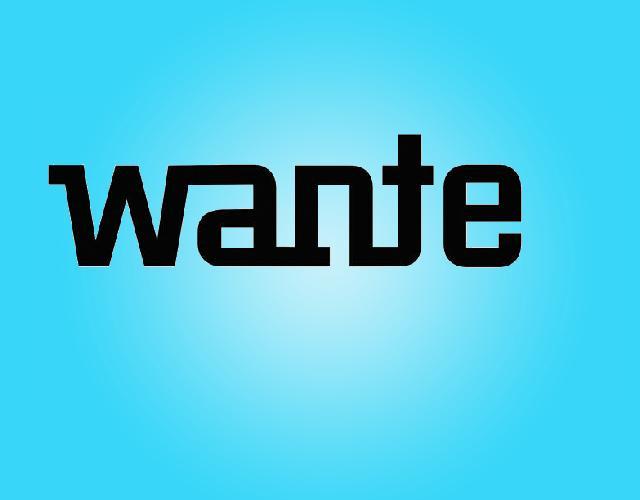 WANTE
