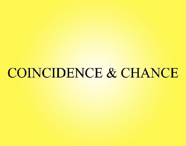 COINCIDENCE&CHANCE