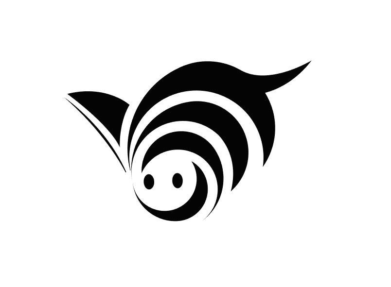 鸟/蜜蜂图形