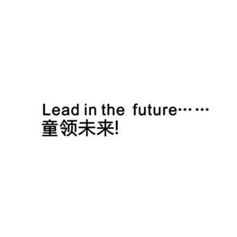 童领未来 LEAD IN THE FUTURE