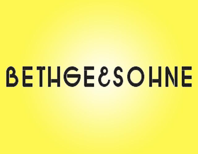 BETHGESOHNE