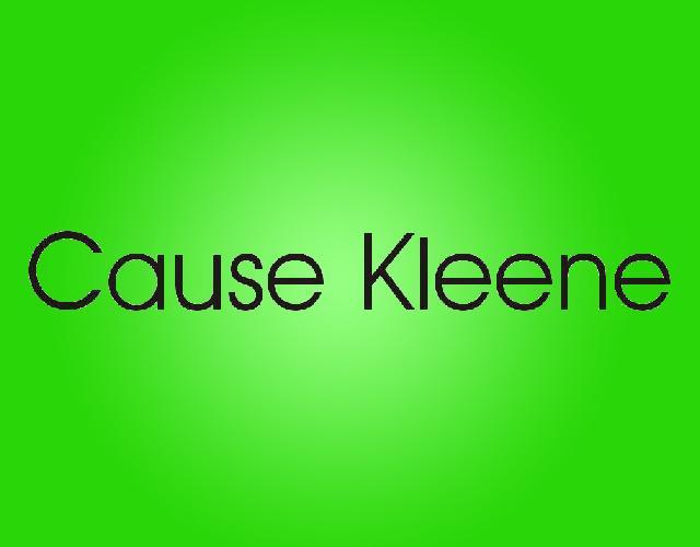 CAUSE KLEENE