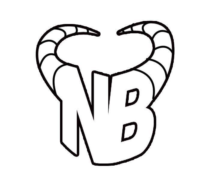 图形标NB+牛角