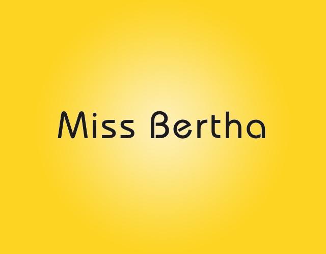 MISS BERTHA