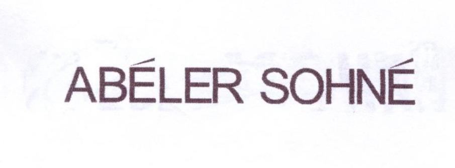 ABELER SOHNE