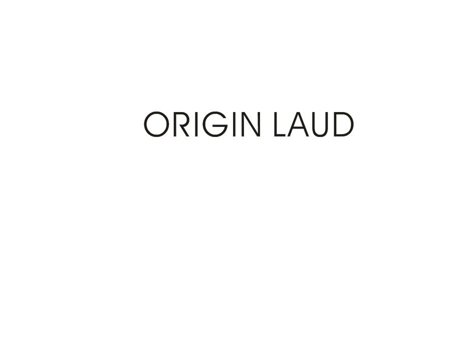ORIGINLAUD(起源赞美)