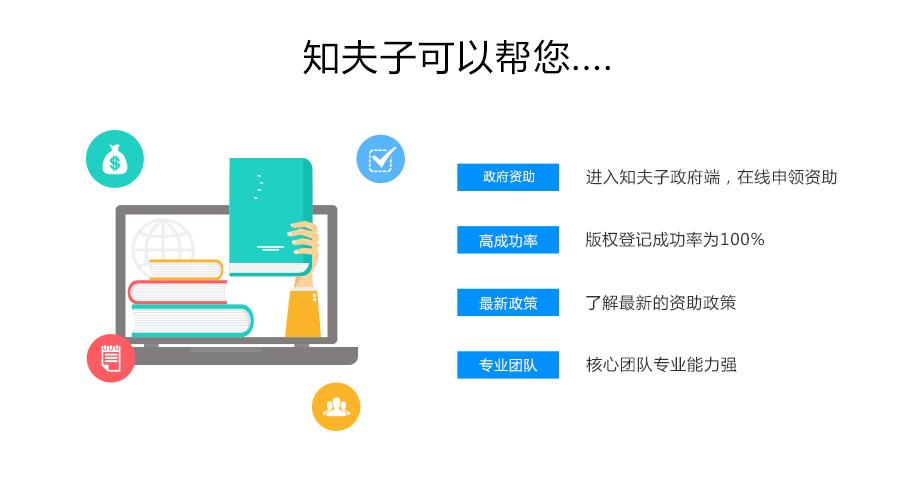 知夫子作品版权登记