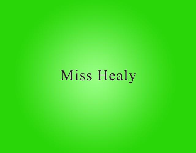 MISS HEALY