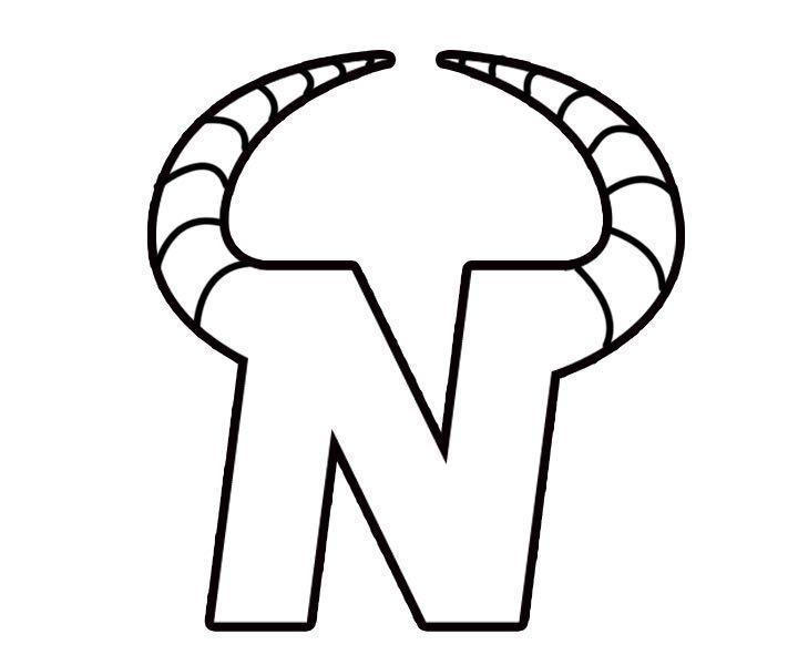 图形标N+牛角