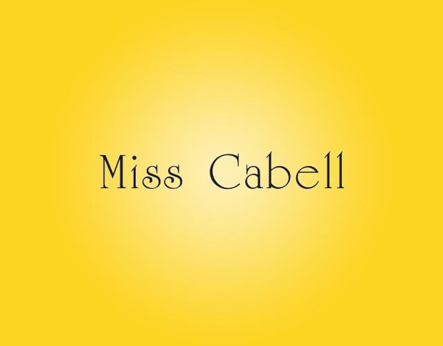 MISS CABELL